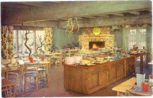 Dining Room at Rick's Rancho Santa Maria California CA