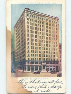 Pre-1907 ALASKA BUILDING Seattle Washington WA A0722