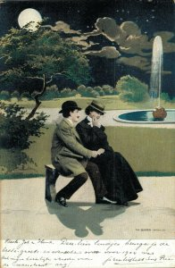 Vintage Romantic Couples Kissing and more Postcard Lot of 8 01.18