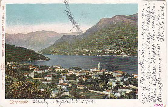 Panorama, Cernobbio (Como), Lombardy, Italy, PU-1903