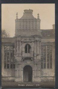 Northamptonshire Postcard - Kirby Hall   RS8906