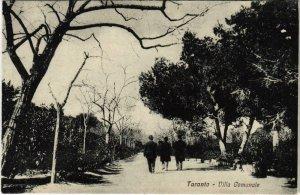 CPA Taranto Villa Gomunale ITALY (802778)