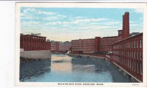 Mills on Saco River , Biddeford , Maine, 1931