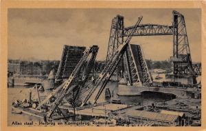BF37199 rotterdam netherlands alles staal hefbrug en koningsb  Boat Ship Bateaux