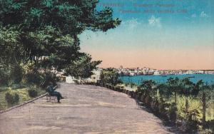 Taranto , Puglia,  Italy , 00-10s ; Giardino Peripato , Panorama della vecchi...