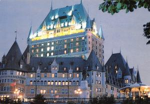 Canada Quebec The Chateau Frontenac
