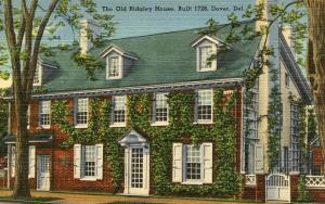 DE - Dover. The Old Ridgley House