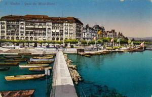 Quai Du Mont Blanc, Geneve, Switzerland, 1900-1910s
