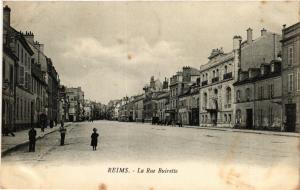 CPA Reims - La Rue Buirette (277071)