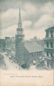 Old Suth Church Boston Massachusetts