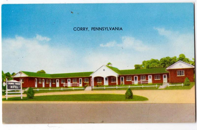 Colonial Terrace Motel, Corry PA