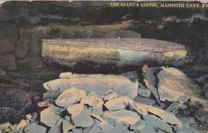 The Giant's Coffin, Mammoth Cave, Kentucky,  PU-00-10s