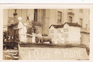 RP; Parade, WINNIPEG, Manitoba, Canada, 1931; 100F Home Float