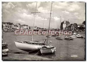 Modern Postcard Pouliguen Loire Atlantique port