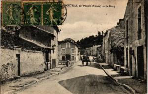 CPA Croutelle par POITIERS - Le Bourg (255767)