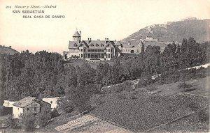 Real Csa de Campo San Sebastian Spain Postal Used Unknown