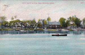 Iowa Des Moines City Bath House