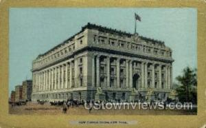 New Custom House New York City NY Unused