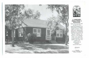 RPPC Three Bedroom Home for Atomic Bomb Workers, Richland, WA, EKC Real Photo