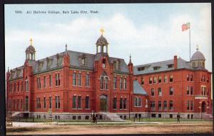 Utah ~ All Hallows College SALT LAKE CITY Divided Back
