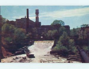 Unused Pre-1980 TOWN VIEW SCENE Sherbrooke Quebec QC p8731