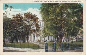 Mississippi NAtchez Stanton Hall One Of The Ante Bellum Residences