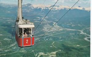 JASPER, Alberta, Canada, 1940-1960's; The Jasper Sky Tram, Jasper National Park