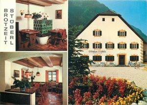 Postcard Hotel Restaurants HORECA Brotzeit Stuberl