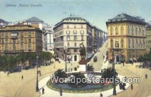 Genova, Italy, Italia Piazza Corvetto  Piazza Corvetto
