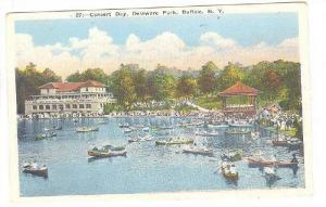 Concert Day, Delaware Park, Buffalo, New York, 10-20s