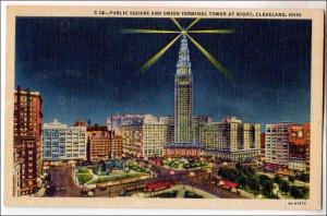 Public Square & Union Terminal Tower, Cleveland Ohio
