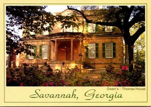 Georgia Savannah Owens-Thomas House