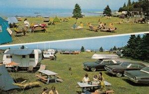 TROIS-PISTOLES, Quebec, Canada, 1960-70s ; Camping Plage 3-Pistoles
