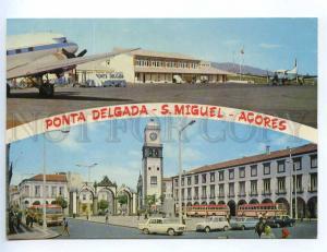 239487 PORTUGAL ACORES Ponta Delgada S.Miguel airport old