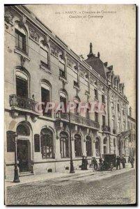 Old Postcard Chamber of Commerce Nancy
