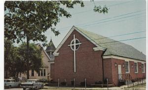 EPWORTH METHODIST CHURCH, Rehoboth Beach, Delaware, 1960s, unused Postcard