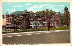 Mississippi Columbus Industrial Institute and College Curteich