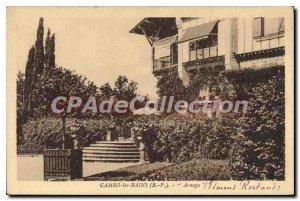 Postcard Old Cambo les Bains Pyrenees Bass Arnaga