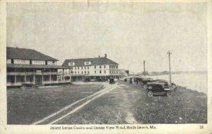 Island Ledge Casino & Ocean View Hotel in Wells Beach, Maine