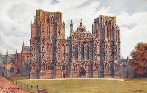 England Wells Cathedral, West Front, A.R. Quinton