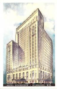 Wisconsin Milwaukee Hotel Schroeder