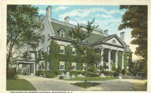 Residence of George Eastman, Rochester, New York early 19...