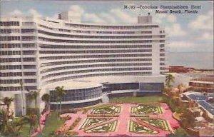 FL Miami Beach Hotel Fontainbleau