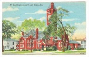 First Presbyterian Church, Selma, Alabama, PU-1949