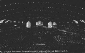 New Jersey Ocean Grove Auditorium Interior Showing Largest Organ In The World...