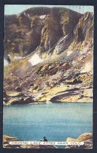 Crystal Lake Estes Park CO used c1914