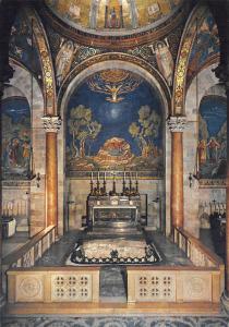 Israel Gethsemane The Interior of the Basilica Getsemani