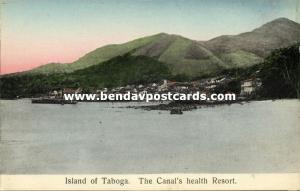 panama, Island of TABOGA, The Canal's Health Resort (1910s)