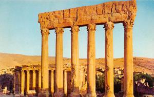 Baalbek, Lebanon Postcard, Carte Postale Uralt Ruinen Baalbek Uralt Ruinen