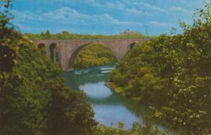 The Veterans Memorial Bridge - Over the Genesee River - Rochester NY, New York